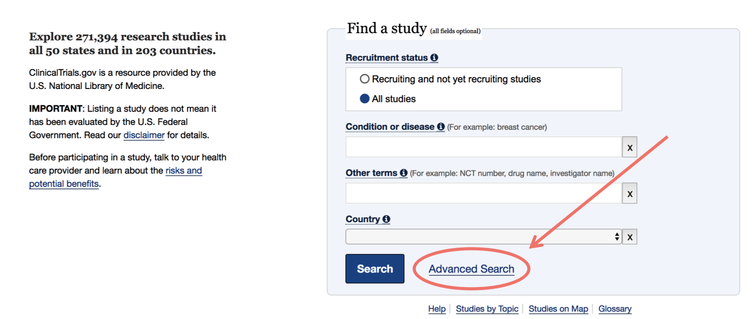 clinicaltrials-advanced-search